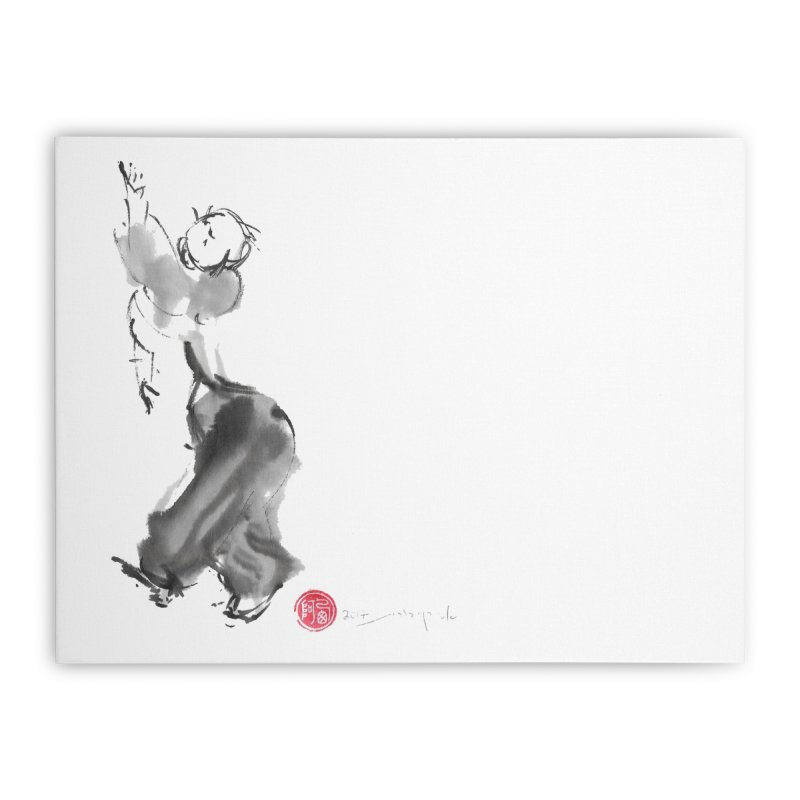 Pa Kua Double Change Home Stretched Canvas by arttaichi's Artist Shop