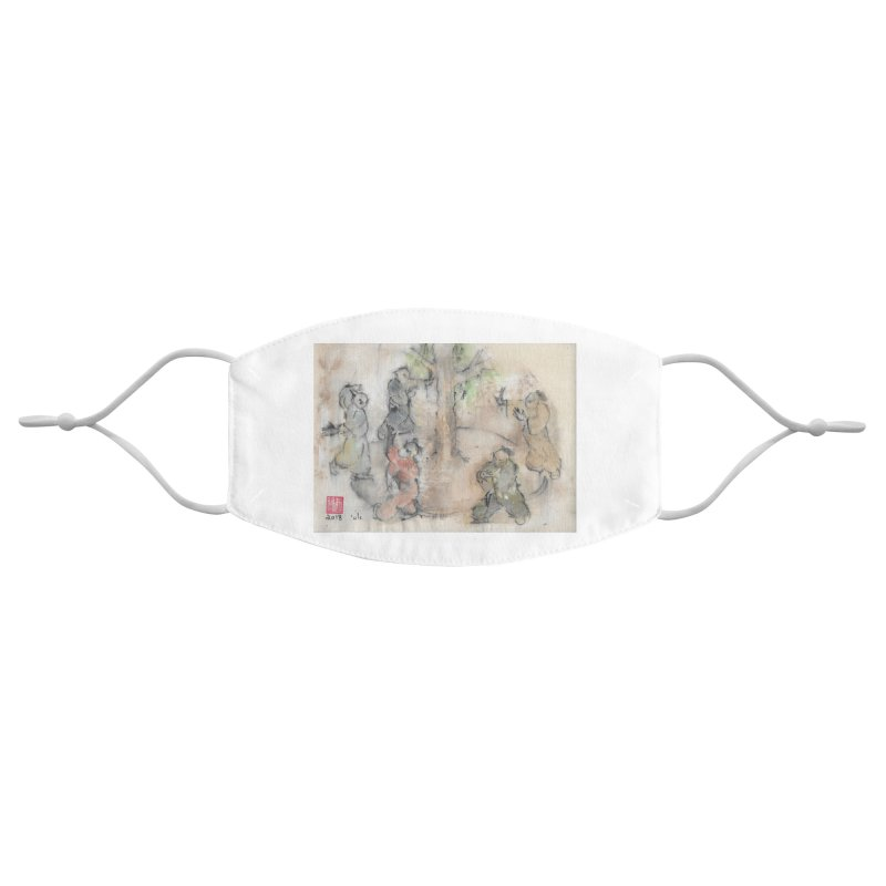 Double Change In transition Accessories Face Mask by arttaichi's Artist Shop