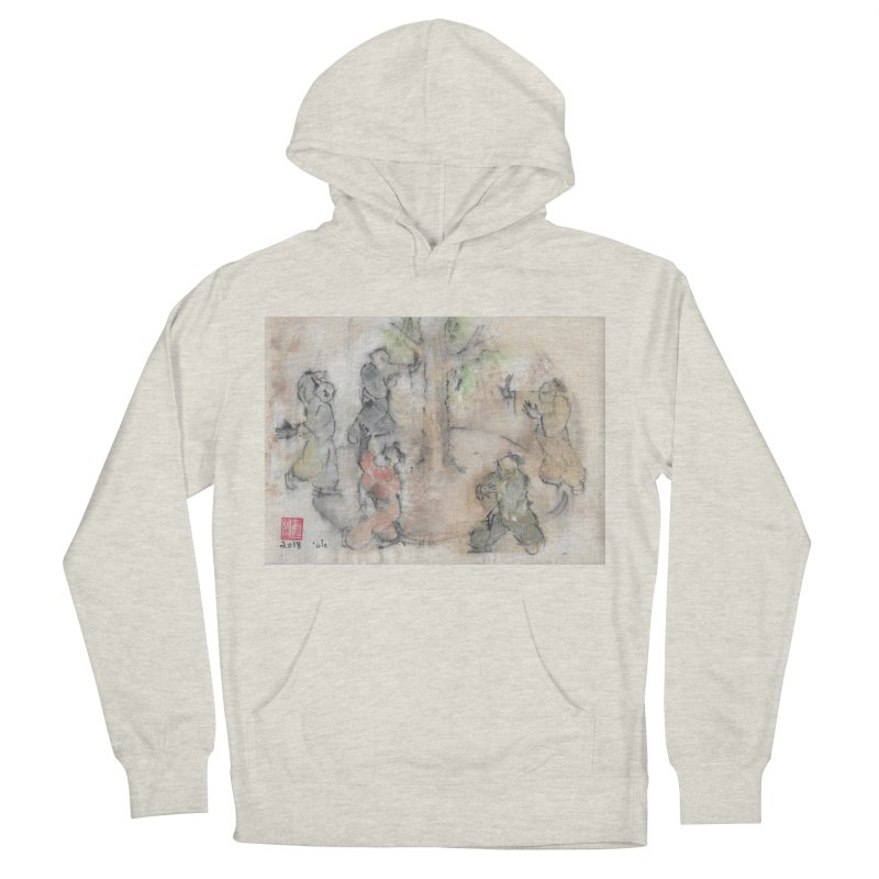 Double Change In transition Women's French Terry Pullover Hoody by arttaichi's Artist Shop