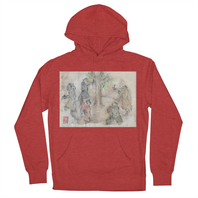 Double Change In transition Men's French Terry Pullover Hoody by arttaichi's Artist Shop