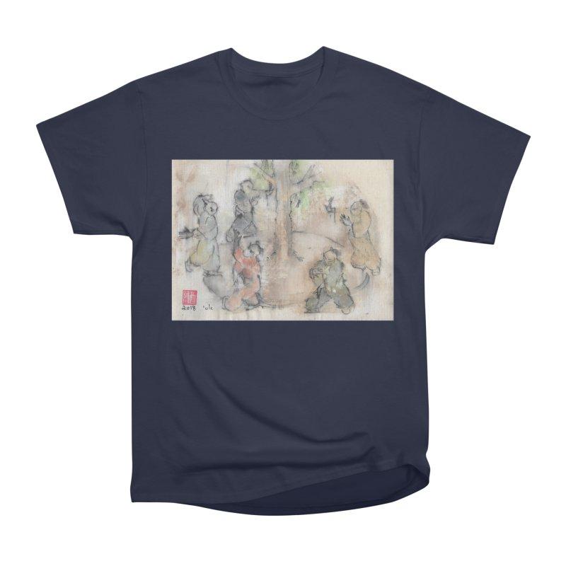 Double Change In transition Men's Heavyweight T-Shirt by arttaichi's Artist Shop