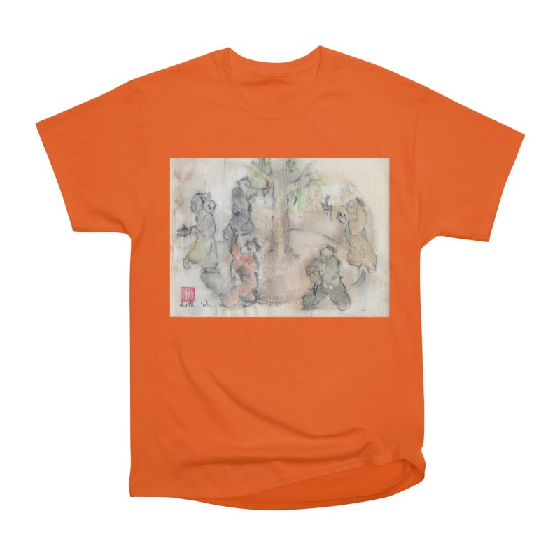 Double Change In transition Men's Heavyweight T-Shirt by arttaichi's Artist Shop