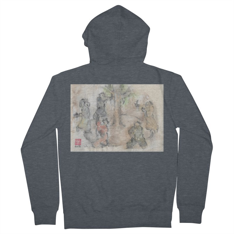 Double Change In transition Women's Zip-Up Hoody by arttaichi's Artist Shop
