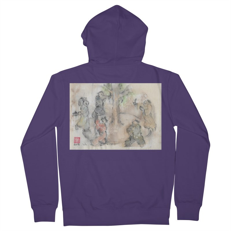 Double Change In transition Women's French Terry Zip-Up Hoody by arttaichi's Artist Shop