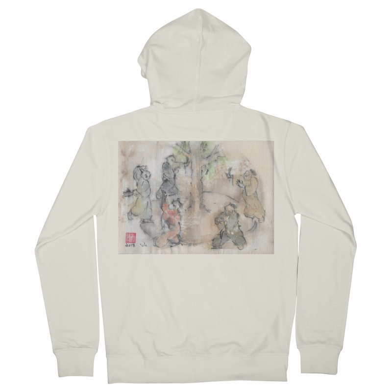 Double Change In transition Men's French Terry Zip-Up Hoody by arttaichi's Artist Shop