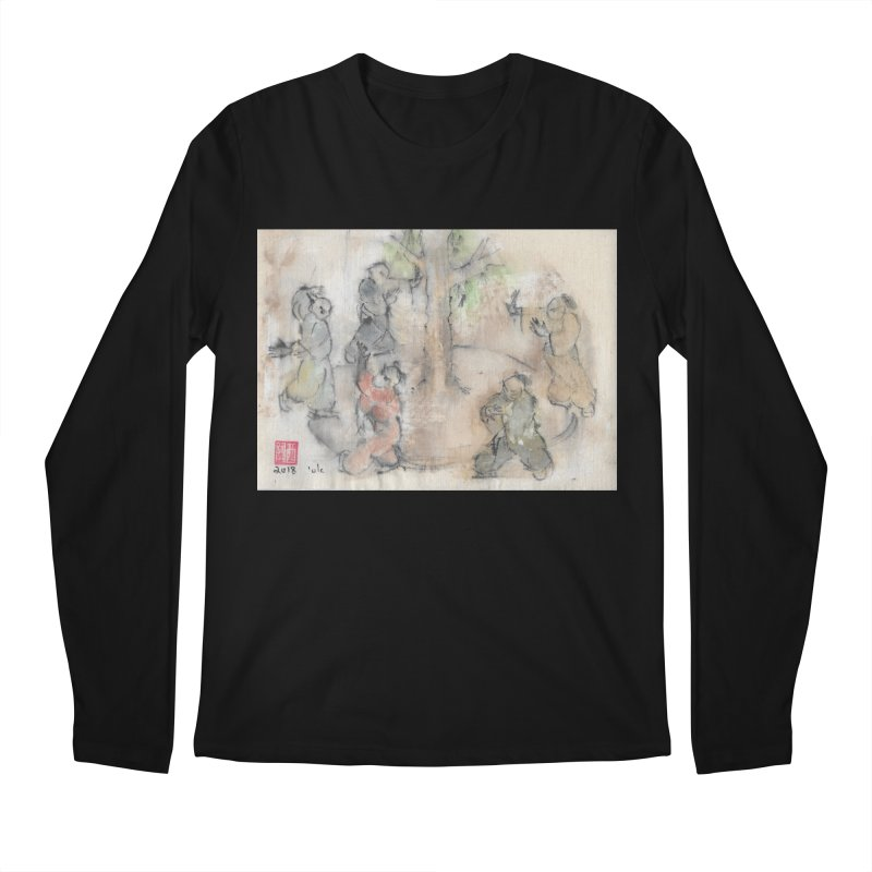Double Change In transition Men's Regular Longsleeve T-Shirt by arttaichi's Artist Shop