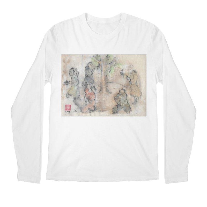 Double Change In transition Men's Regular Longsleeve T-Shirt by arttaichi's Artist Shop