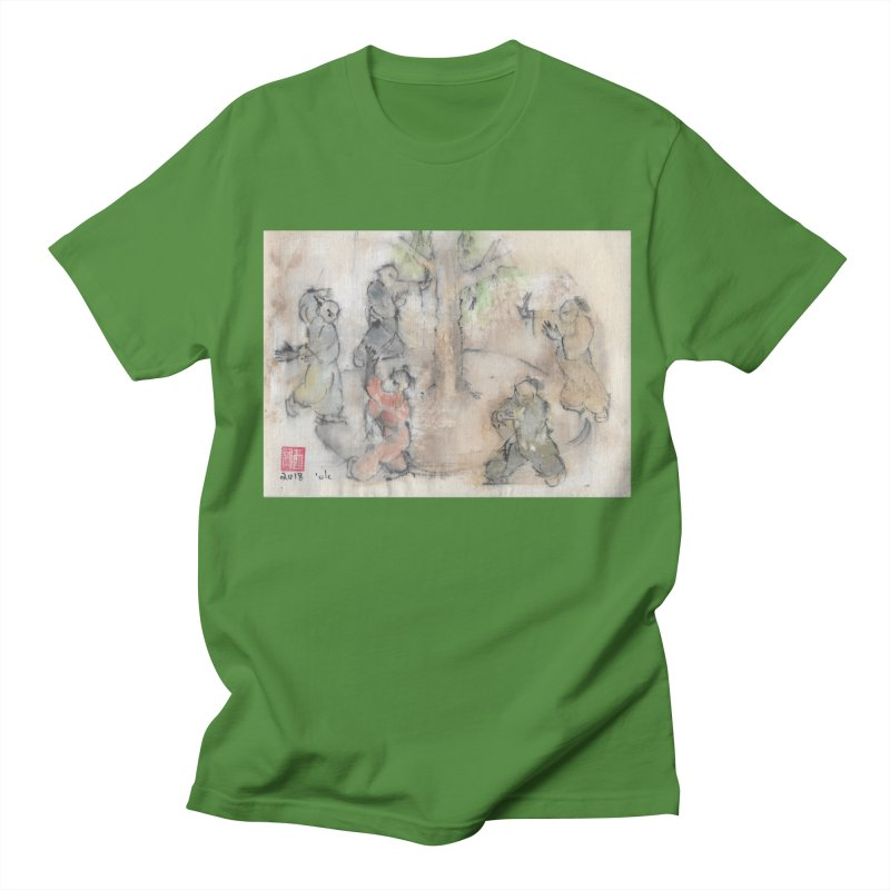 Double Change In transition Men's Regular T-Shirt by arttaichi's Artist Shop