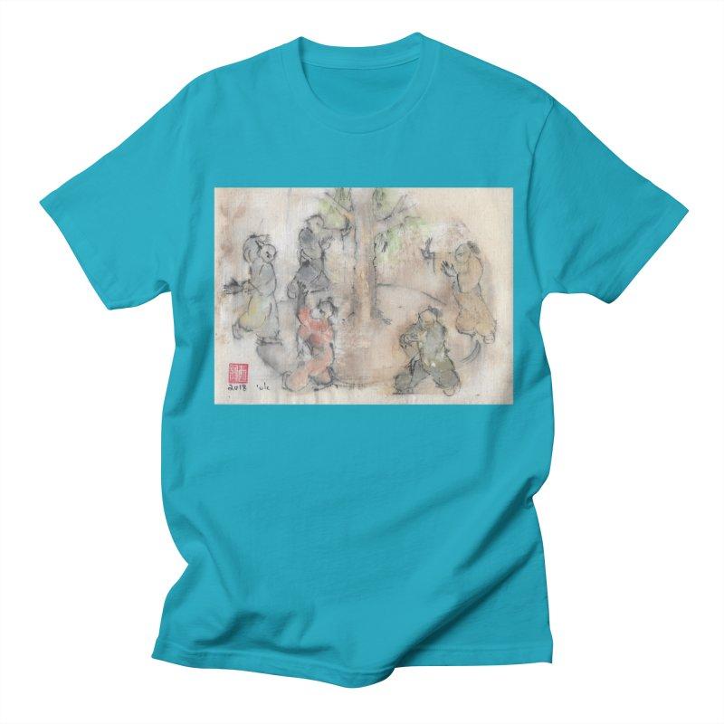 Double Change In transition Men's Regular T-Shirt by arttaichi's Artist Shop
