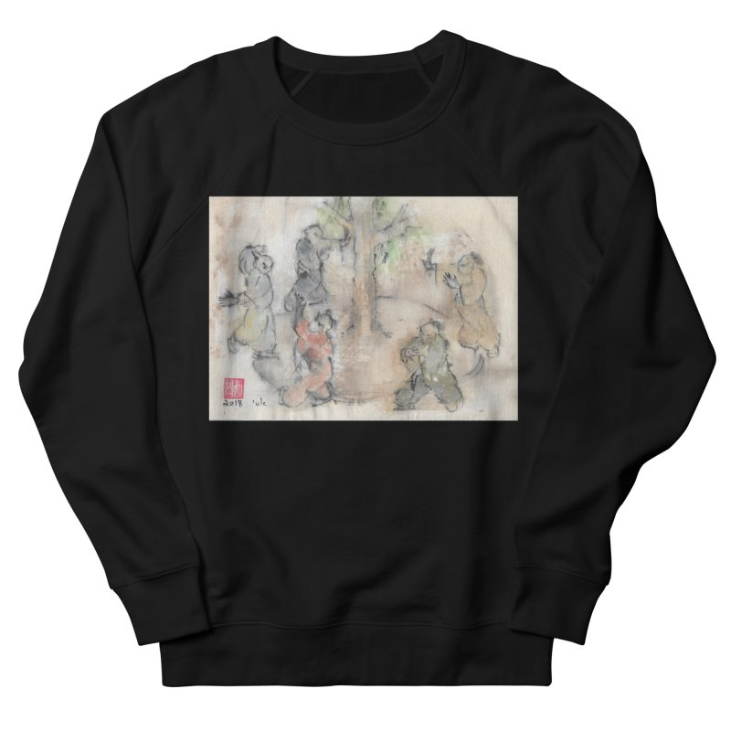 Double Change In transition Women's French Terry Sweatshirt by arttaichi's Artist Shop
