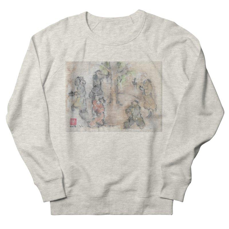 Double Change In transition Women's French Terry Sweatshirt by arttaichi's Artist Shop