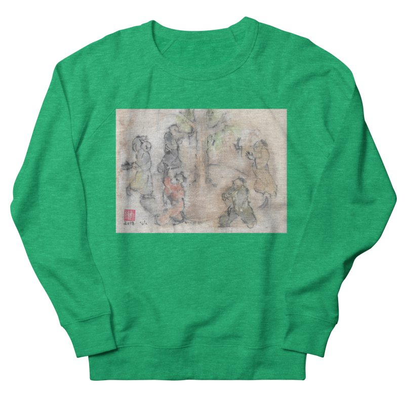 Double Change In transition Men's French Terry Sweatshirt by arttaichi's Artist Shop