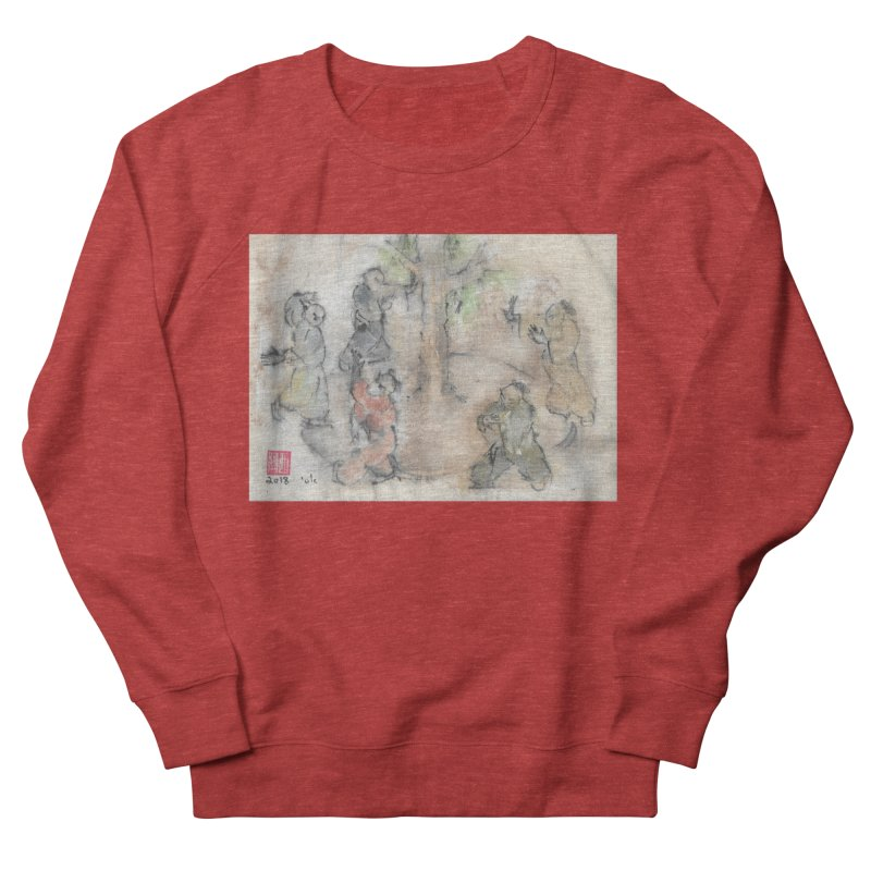 Double Change In transition Men's French Terry Sweatshirt by arttaichi's Artist Shop