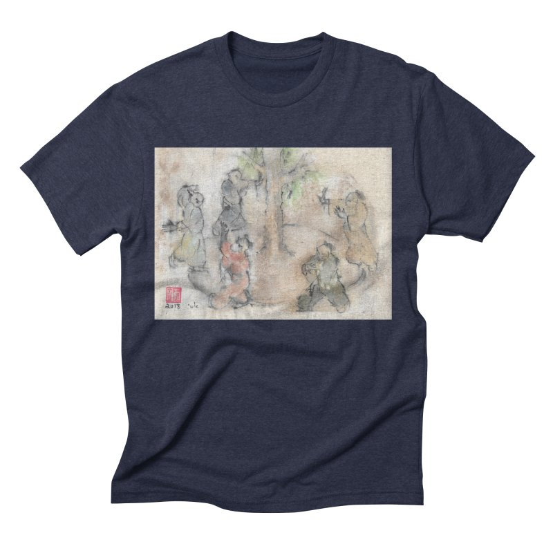 Double Change In transition Men's Triblend T-Shirt by arttaichi's Artist Shop