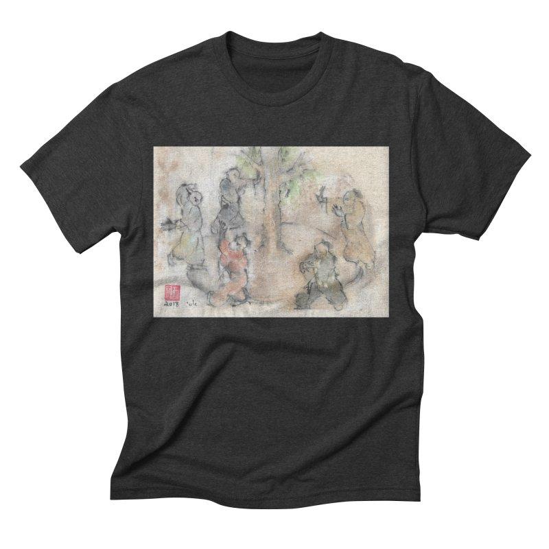 Double Change In transition Men's Triblend T-Shirt by arttaichi's Artist Shop