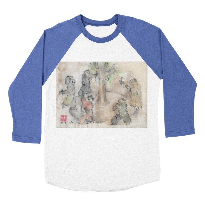 Double Change In transition Women's Baseball Triblend Longsleeve T-Shirt by arttaichi's Artist Shop