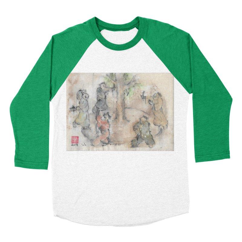 Double Change In transition Women's Baseball Triblend Longsleeve T-Shirt by arttaichi's Artist Shop