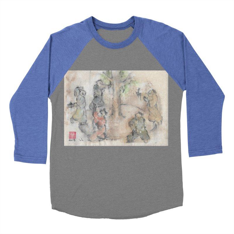 Double Change In transition Men's Baseball Triblend Longsleeve T-Shirt by arttaichi's Artist Shop