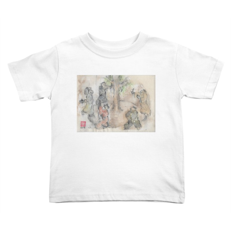 Double Change In transition Kids Toddler T-Shirt by arttaichi's Artist Shop
