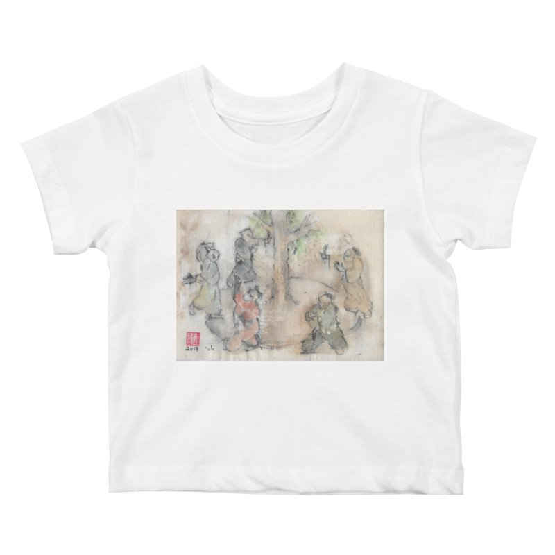 Double Change In transition Kids Baby T-Shirt by arttaichi's Artist Shop