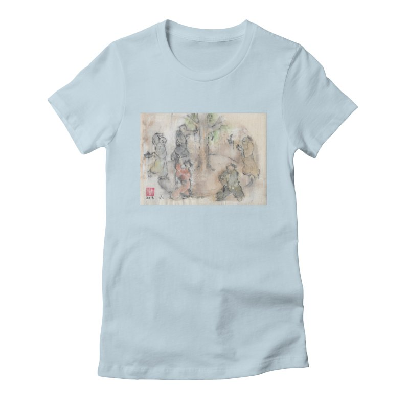 Double Change In transition Women's T-Shirt by arttaichi's Artist Shop