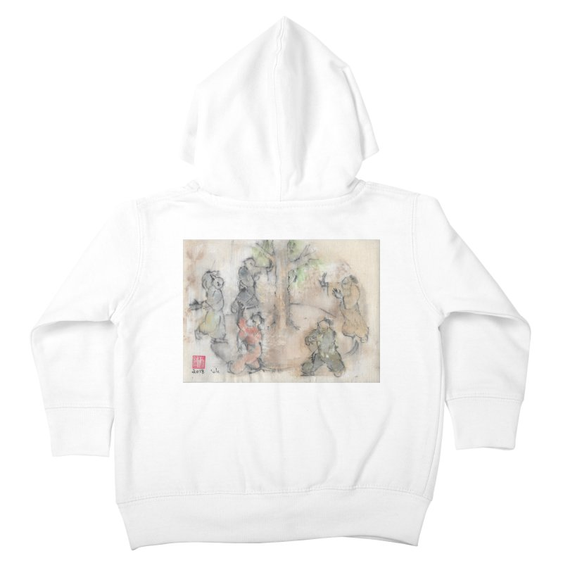 Double Change In transition Kids Toddler Zip-Up Hoody by arttaichi's Artist Shop