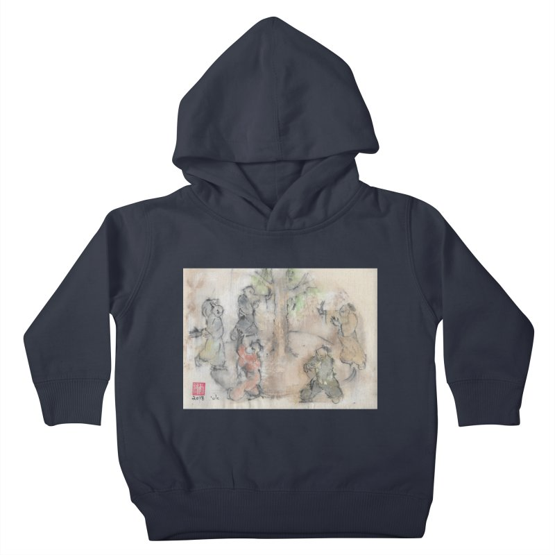 Double Change In transition Kids Toddler Pullover Hoody by arttaichi's Artist Shop