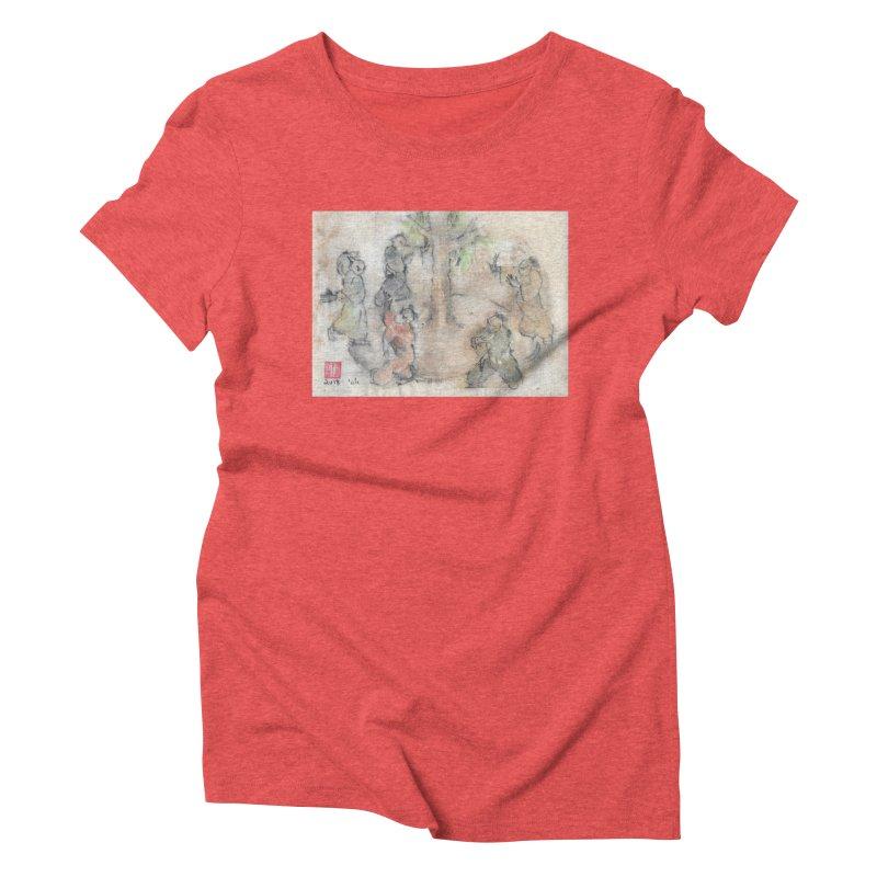 Double Change In transition Women's Triblend T-Shirt by arttaichi's Artist Shop