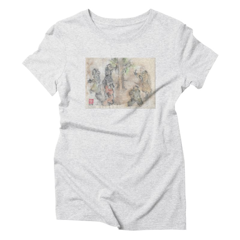Double Change In transition Women's Triblend T-Shirt by arttaichi's Artist Shop