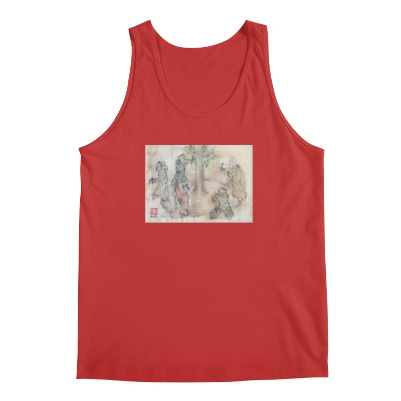 Double Change In transition Men's Regular Tank by arttaichi's Artist Shop