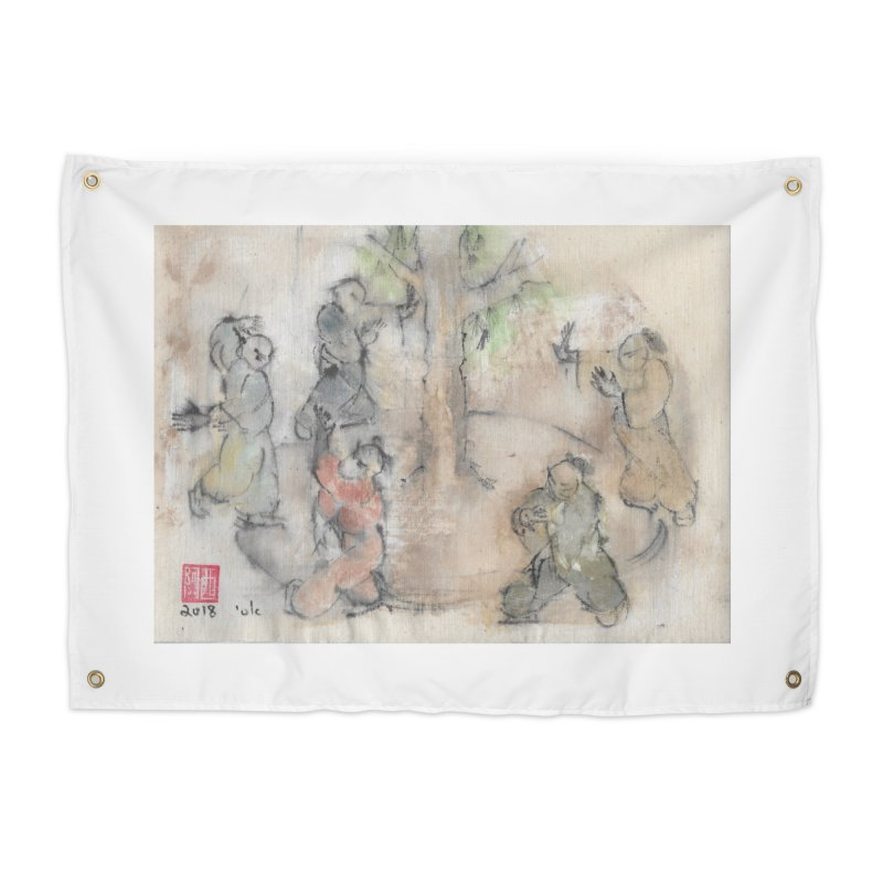 Double Change In transition Home Tapestry by arttaichi's Artist Shop