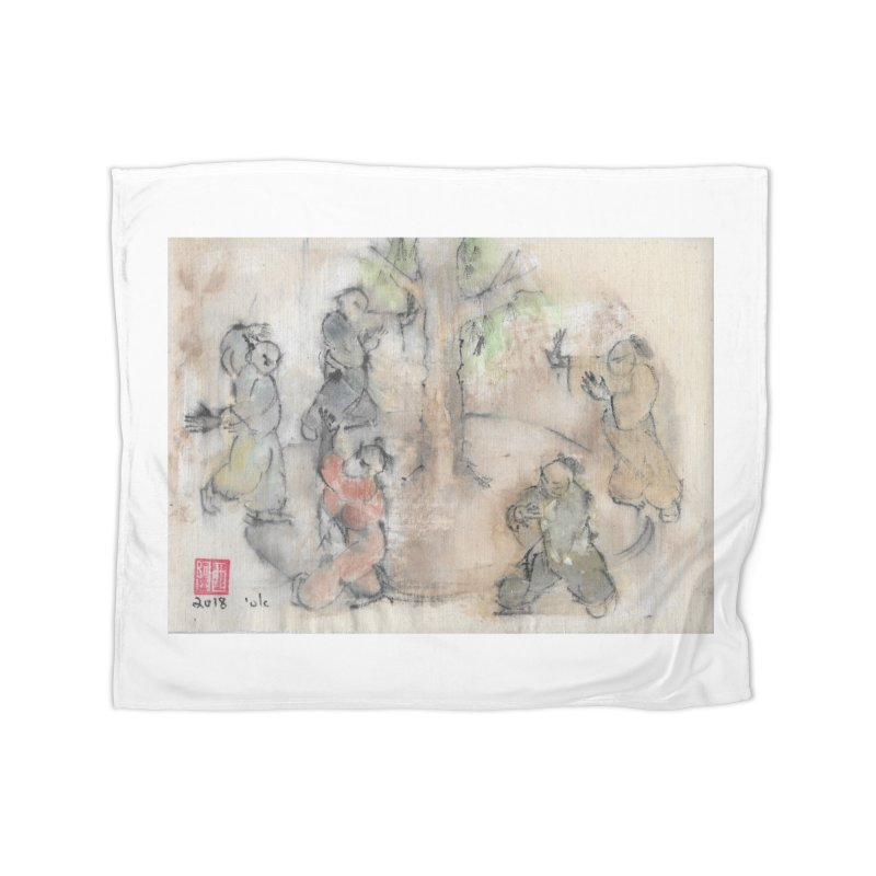 Double Change In transition Home Blanket by arttaichi's Artist Shop