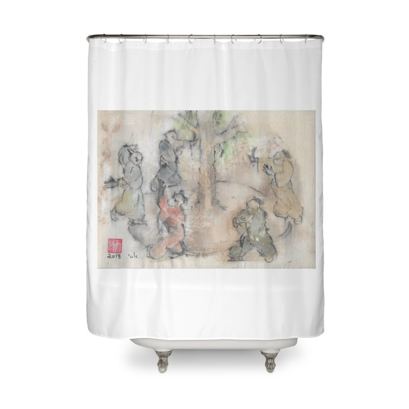 Double Change In transition Home Shower Curtain by arttaichi's Artist Shop