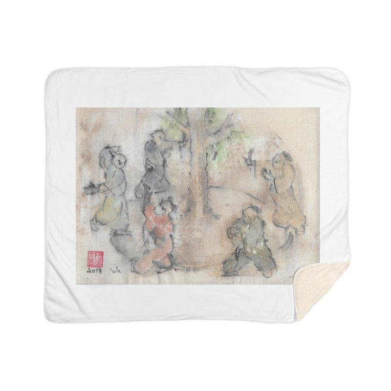 Double Change In transition Home Sherpa Blanket Blanket by arttaichi's Artist Shop
