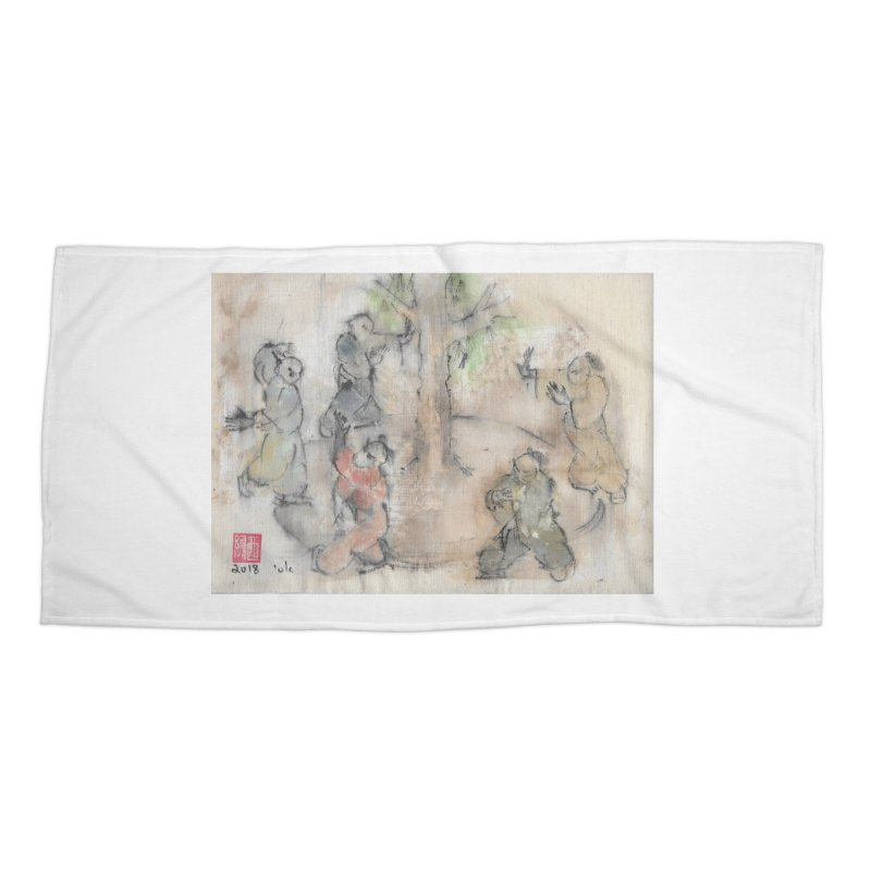 Double Change In transition Accessories Beach Towel by arttaichi's Artist Shop
