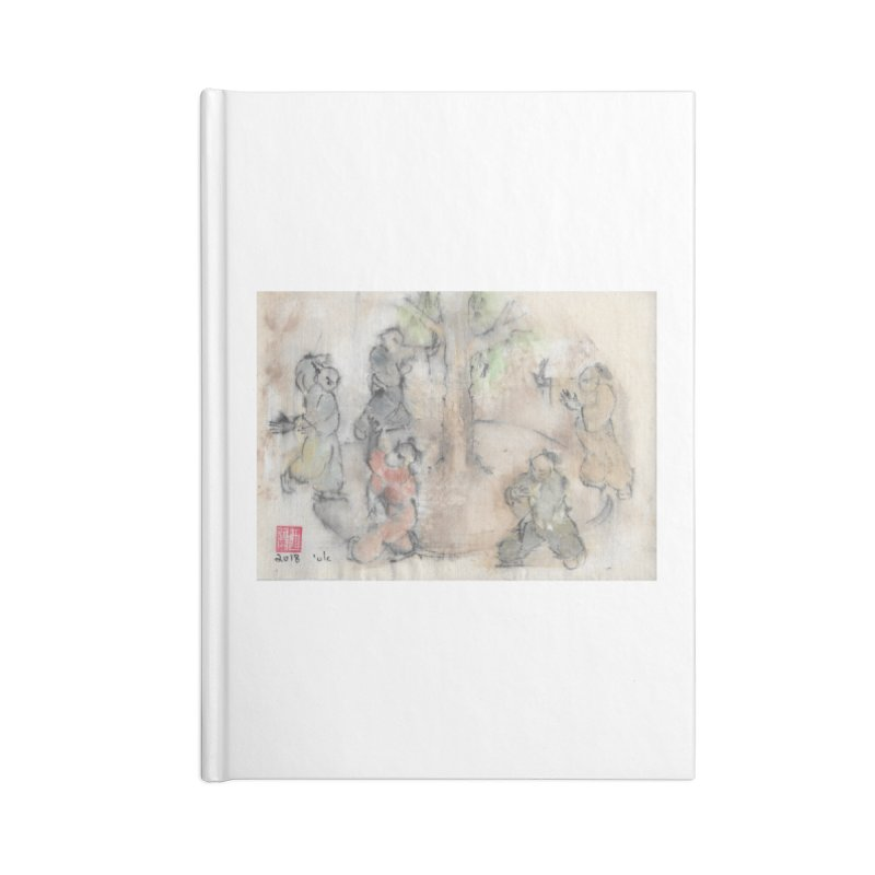 Double Change In transition Accessories Lined Journal Notebook by arttaichi's Artist Shop