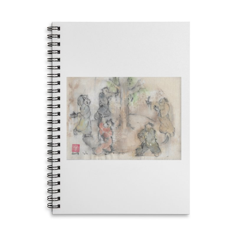Double Change In transition Accessories Lined Spiral Notebook by arttaichi's Artist Shop