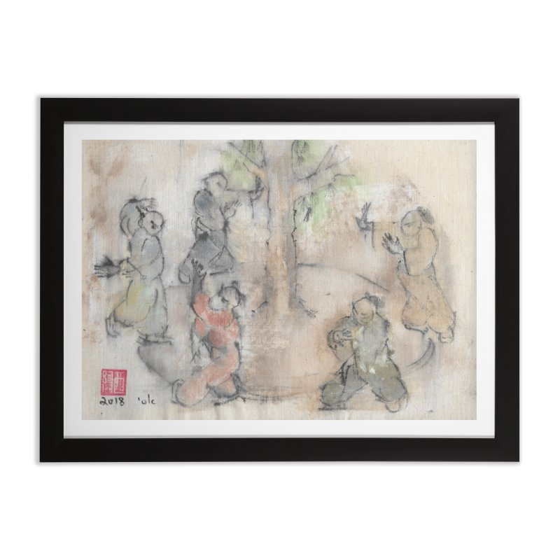 Double Change In Transition Home Framed Fine Art Print by arttaichi's Artist Shop