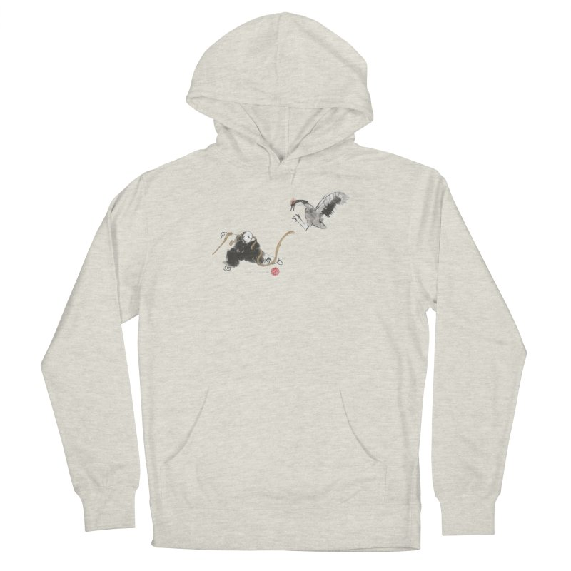 Tai Chi Crane and Snake Men's Pullover Hoody by arttaichi's Artist Shop