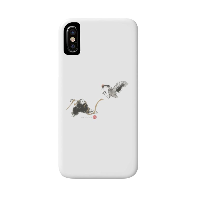 Tai Chi Crane and Snake Accessories Phone Case by arttaichi's Artist Shop
