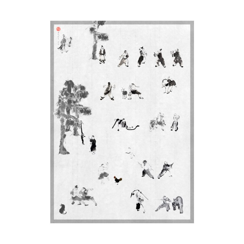 Tai Chi Forest Tales by arttaichi's Artist Shop