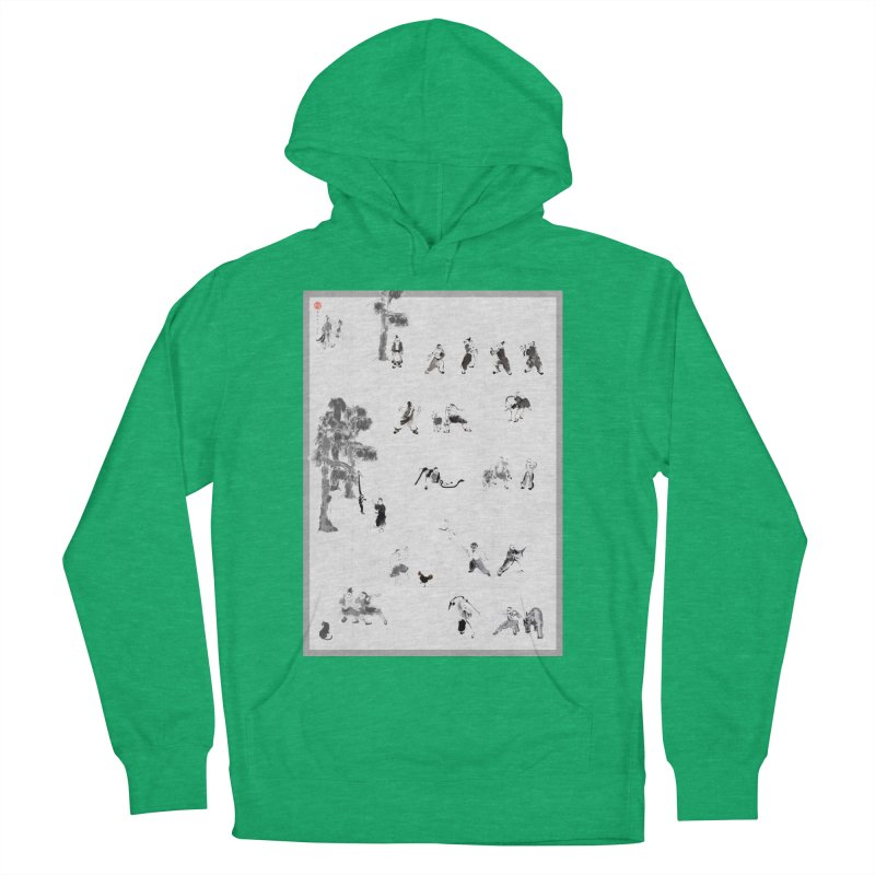 Tai Chi Forest Tales Women's Pullover Hoody by arttaichi's Artist Shop
