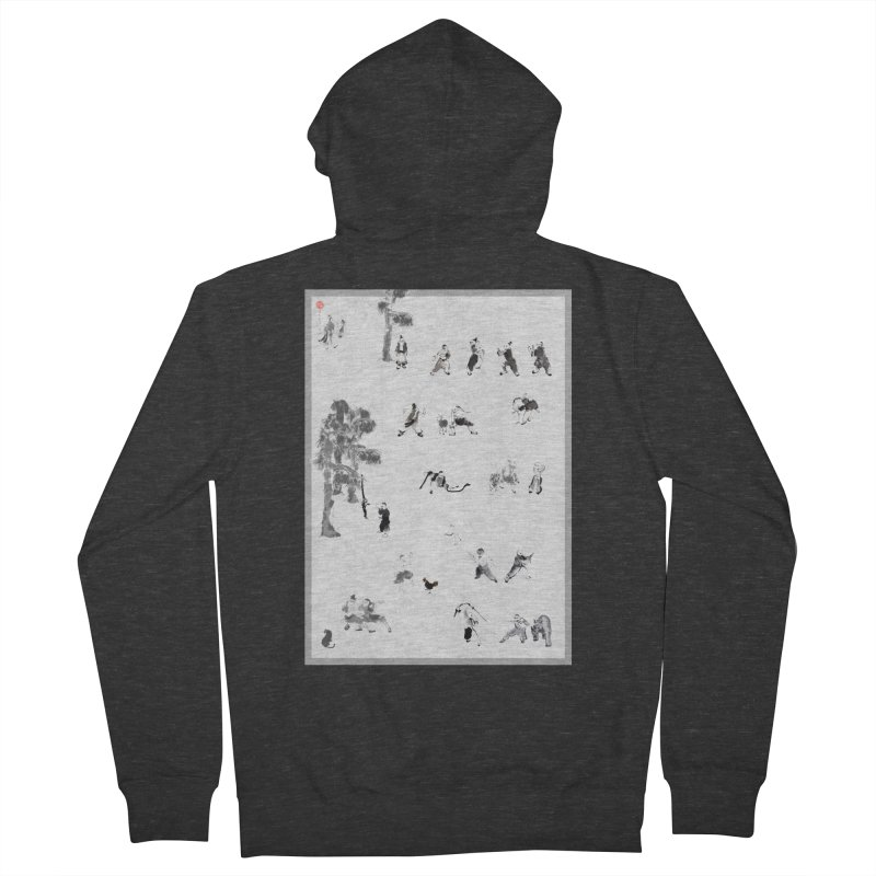 Tai Chi Forest Tales Women's Zip-Up Hoody by arttaichi's Artist Shop