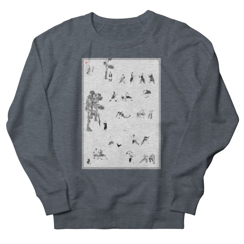 Tai Chi Forest Tales Men's Sweatshirt by arttaichi's Artist Shop