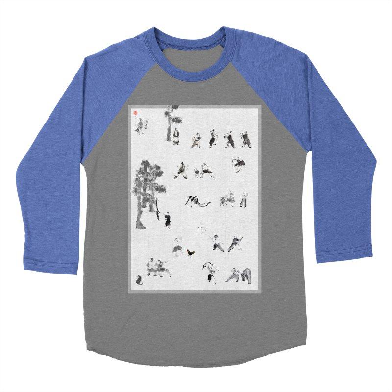 Tai Chi Forest Tales Women's Baseball Triblend T-Shirt by arttaichi's Artist Shop