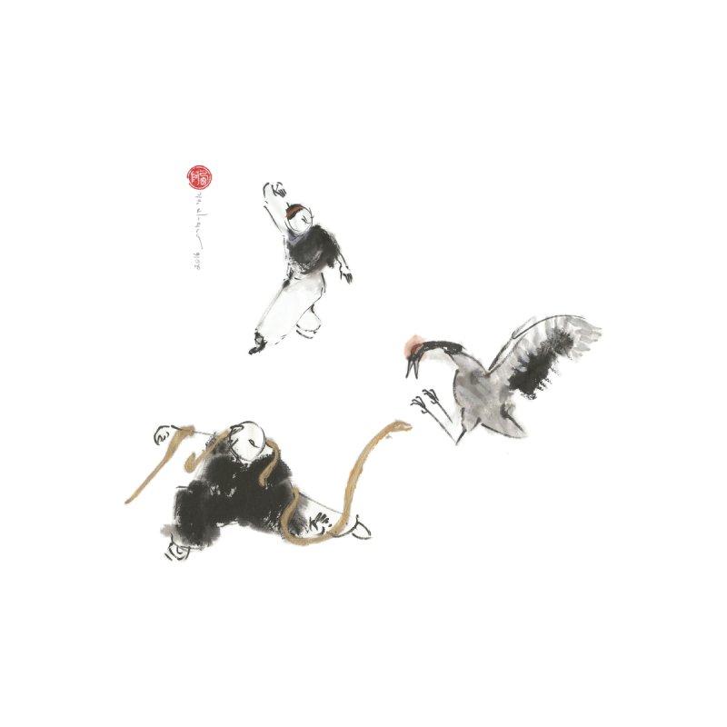 Tai Chi Crane and Snake None  by arttaichi's Artist Shop