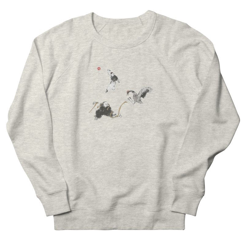 Tai Chi Crane and Snake Men's Sweatshirt by arttaichi's Artist Shop