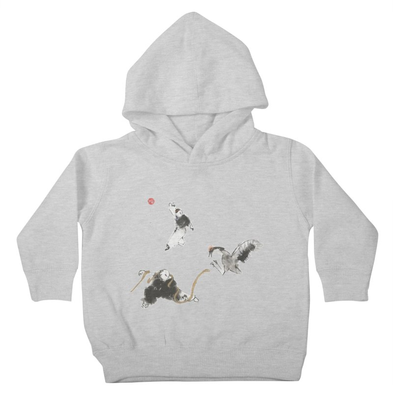 Tai Chi Crane and Snake Kids Toddler Pullover Hoody by arttaichi's Artist Shop