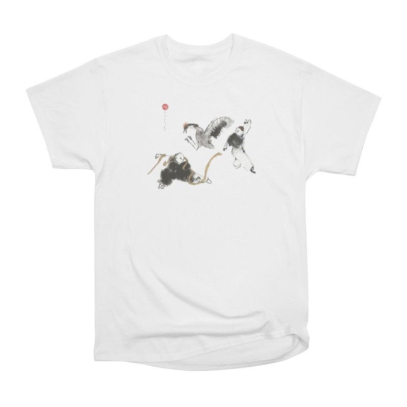 Tai Chi Crane and Snake Men's T-Shirt by arttaichi's Artist Shop