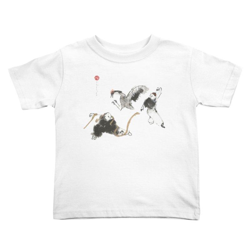 Tai Chi Crane and Snake Kids Toddler T-Shirt by arttaichi's Artist Shop